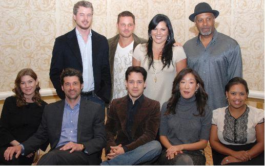 Season 4 Cast at Press Conference