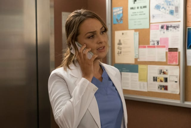 Pick Up! - Grey's Anatomy Season 14 Episode 9