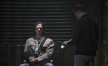 Sam's In a Pickle - Supernatural Season 10 Episode 1