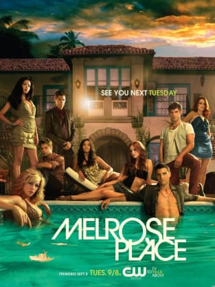 Melrose Place Publicity Poster