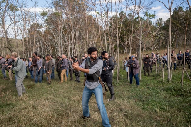 It's A Trap! - The Walking Dead Season 8 Episode 16