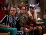 Leonard, Sheldon and Raj on the Couch