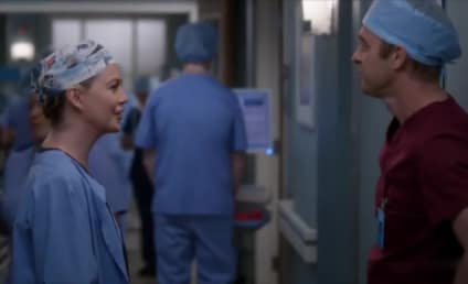 Grey's Anatomy Sneak Peek: Meredith Meets a Handsome New Doc!