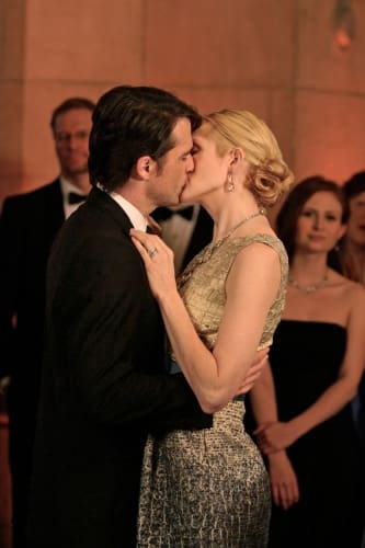 Lily and Rufus Kissing