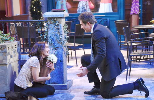 Rafe Proposes to Hope - Days of Our Lives