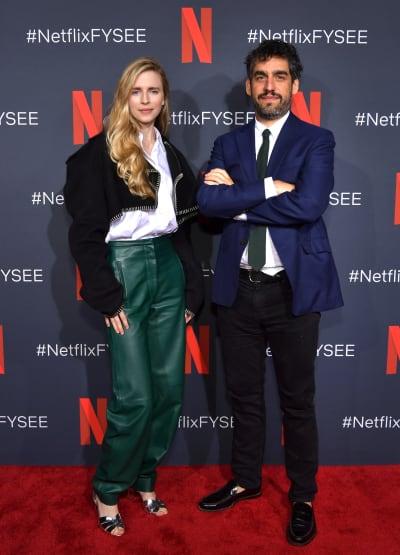 Brit Marling and Zal Batmanglij attends Netflix FYSEE Change In Focus