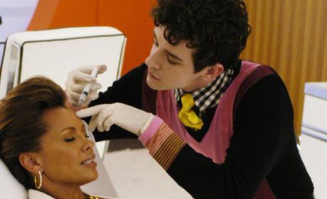 Marc Injects Wilhelmina's Botox