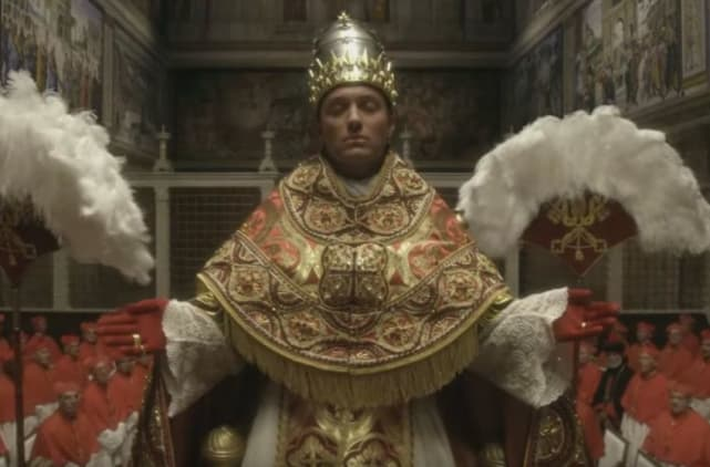 Lenny in all his glory the young pope season 1 episode 5