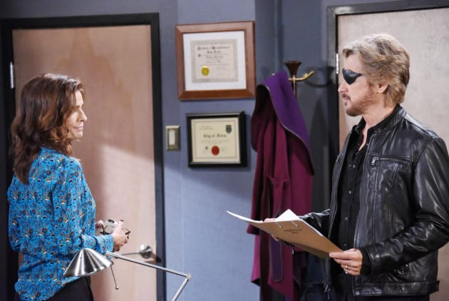 Steve Can't Read a Case File - Days of Our Lives