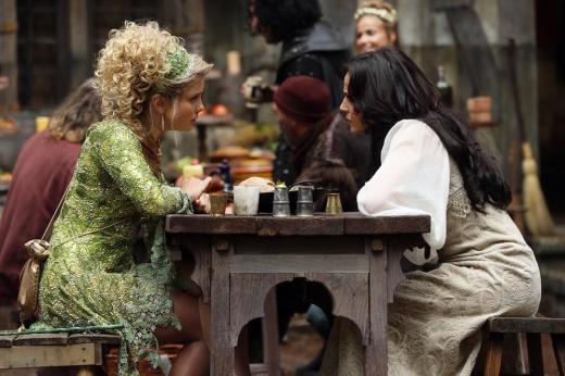Regina and Tinker Bell