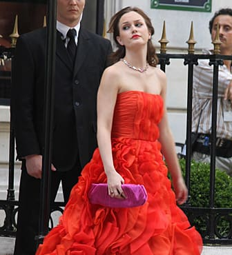 Leighton M. in Red