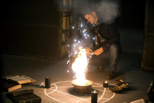Dean Casting a Spell