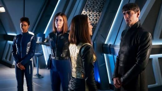 Emperor Georgiou In Prime Universe - Star Trek: Discovery Season 1 Episode 14