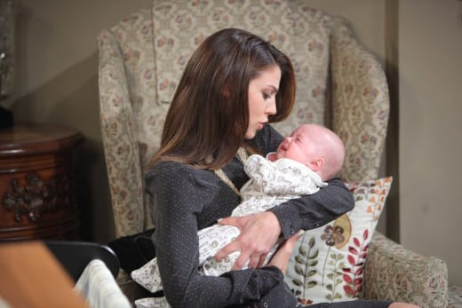 Abigail and Baby Thomas - Days of Our Lives