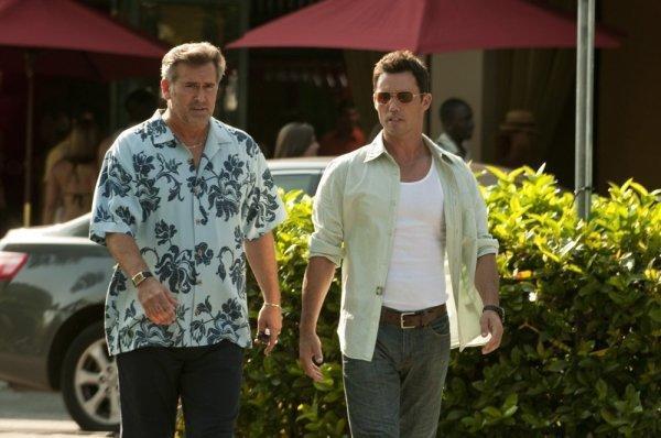 Michael and Sam Scene