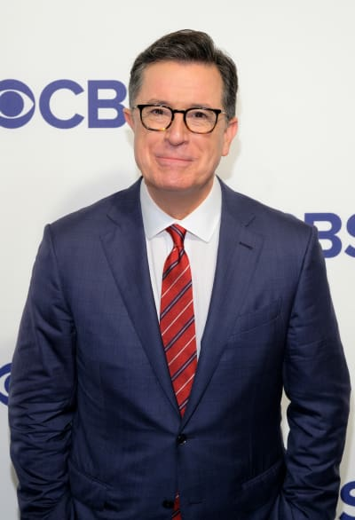 Stephen Colbert at CBS Upfronts