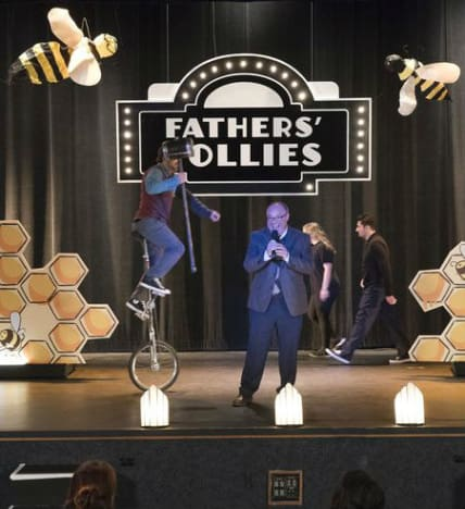 Fathers' Follies Announcer - Modern Family Season 10 Episode 6