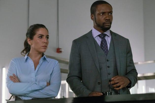 Tasha and Reade - Blindspot Season 2 Episode 12