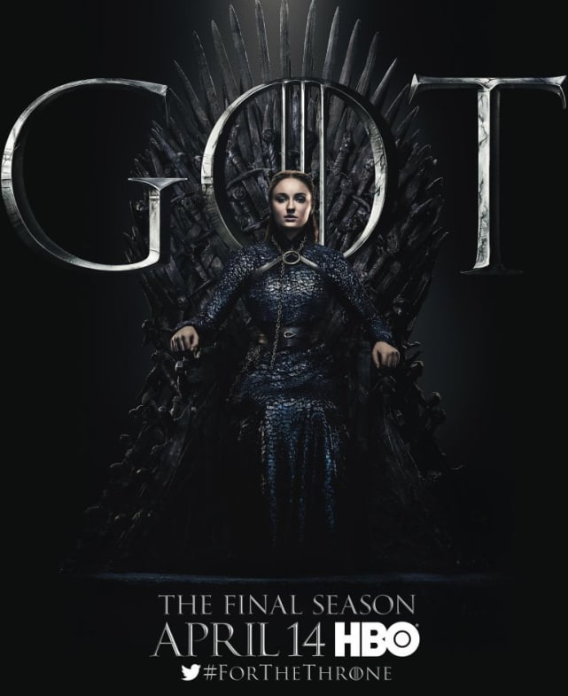Sansa on the Throne - Game of Thrones