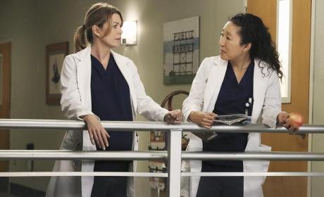 Meredith and Cristina Photograph