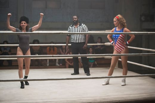 Ruth and Debbie in the Ring