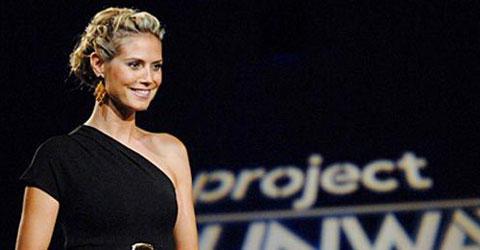 Heidi Klum as Project Runway Host