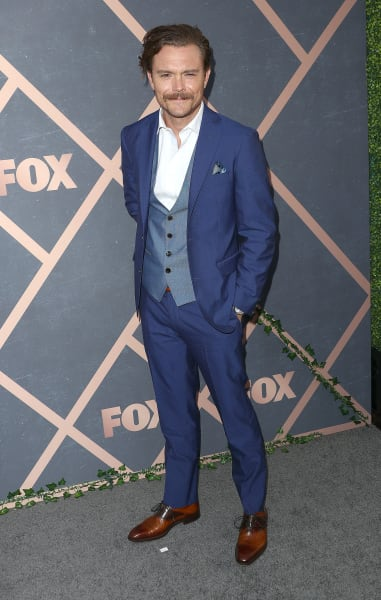 Clayne Crawford Attends Fox Fall Party