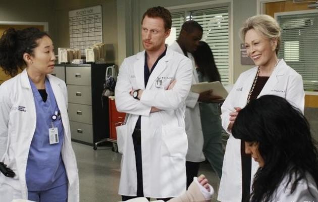 Cristina, Owen and Izzie