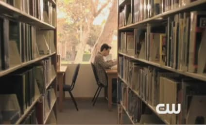 90210 Shocker: Naomi in the Library!