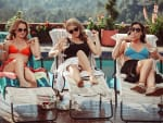 Girlfriends by the Pool - American Woman
