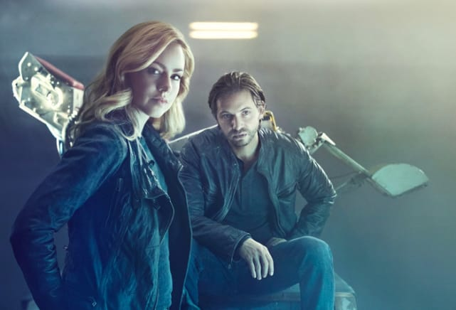 Cassie and Cole - 12 Monkeys
