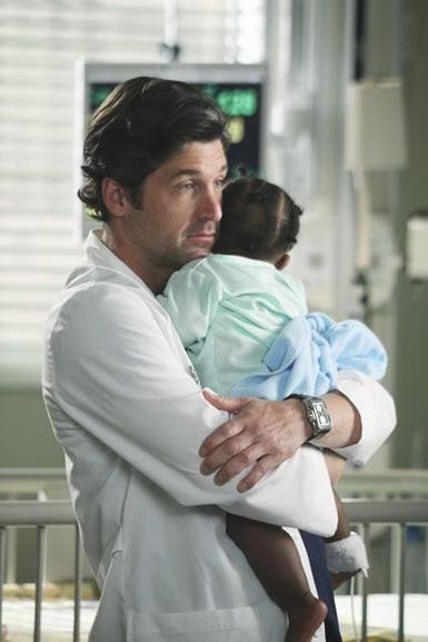 Derek With a Baby