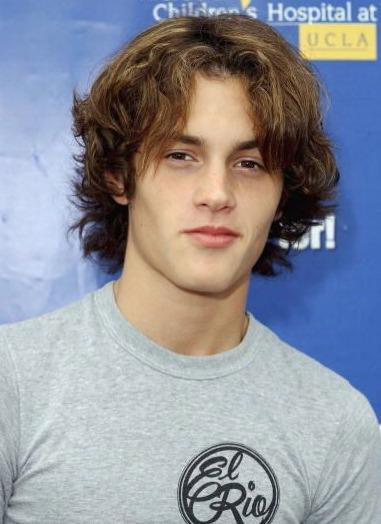 Long-Haired Penn Badgley!
