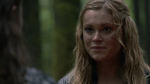 "Clarke proclaims her faith in Bellamy on ""Survival of the Fittest"""