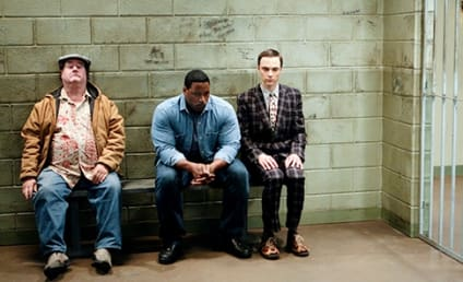 The Big Bang Theory First Look: Sheldon in Jail