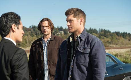 Sam and Dean have a chat - Supernatural Season 12 Episode 8