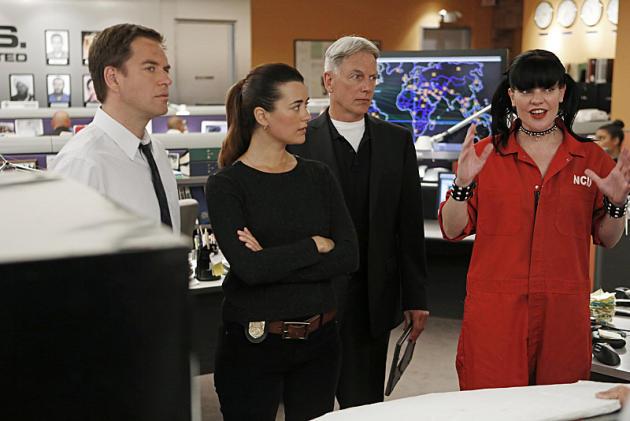 Tony, Abby, Gibbs and Ziva