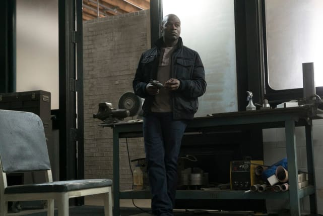 Dembe agrees - The Blacklist Season 4 Episode 21