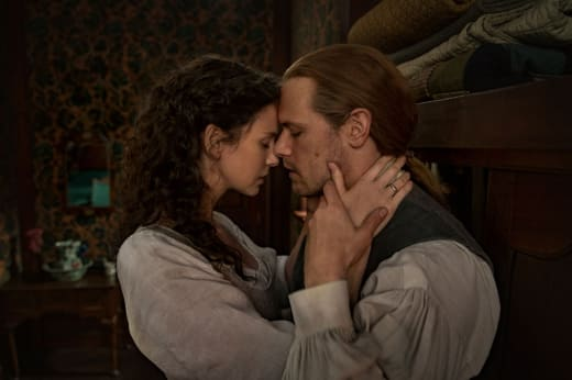 Claire and Jamie on Season 6 - Outlander