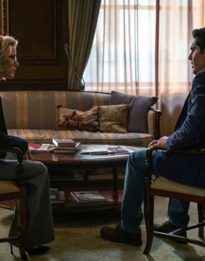 Trying to Beat the Storm - Madam Secretary Season 5 Episode 16