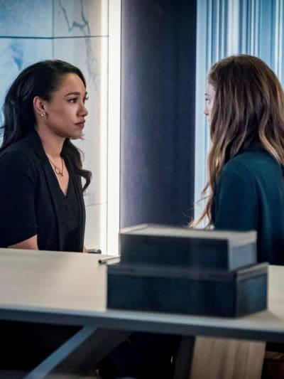Iris and Eva - The Flash Season 6 Episode 17