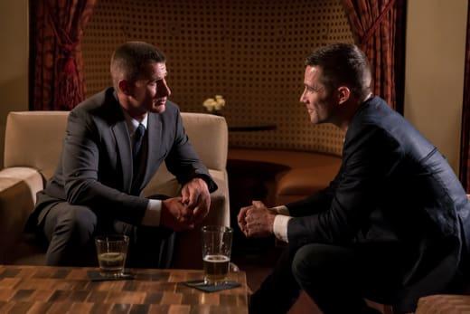 Drew and Rick Discuss the Future - The Night Shift Season 4 Episode 10