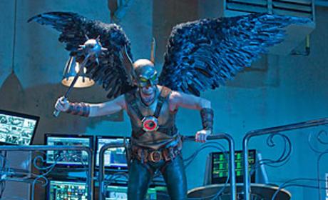 Michael Shanks as Hawkman
