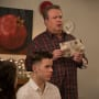 Cam Discovers His Card - Modern Family Season 10 Episode 10