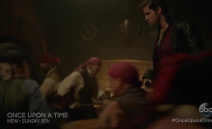 Once Upon A Time Sneak Peek: Watch Captain Hook Belt Out His Revenge