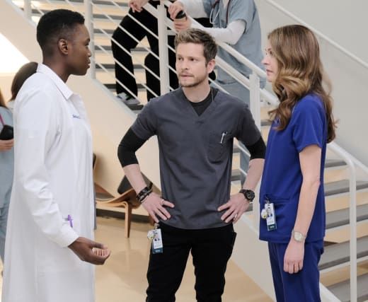 Hawkfor and the Ortho Goddess - The Resident Season 2 Episode 13