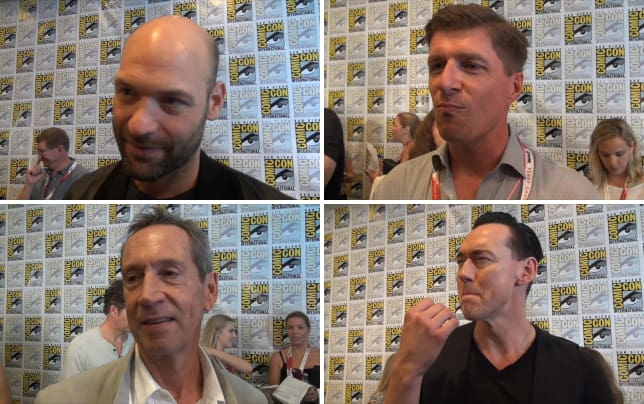 Corey stoll comic con interview
