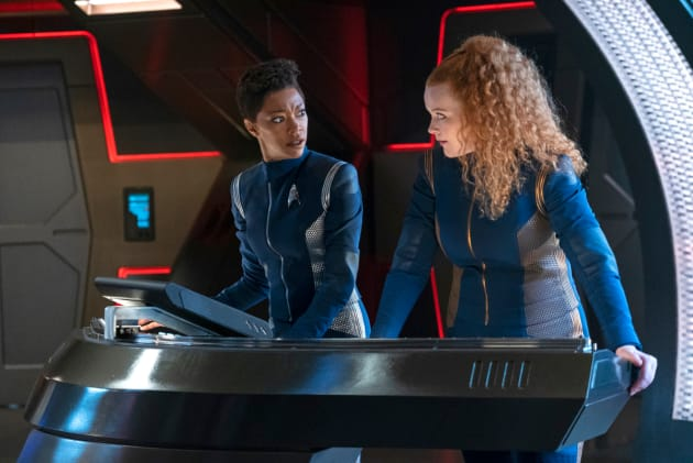 Burnham and Tilly - Star Trek: Discovery Season 2 Episode 9