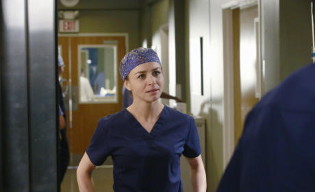 Amelia is Worried - Grey's Anatomy Season 12 Episode 8