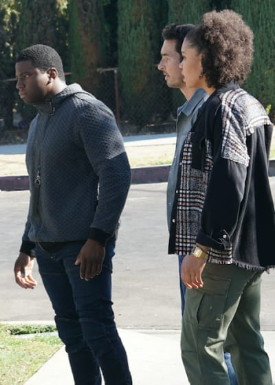 Dean, Vic, Travis help - Station 19 Season 4 Episode 5
